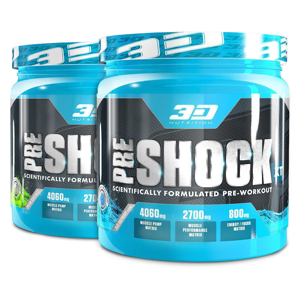 3d Nutrition Pre Shock Xt 300g Banded Pack Chrome Supplements The Curse Cobralabs Pwo Preworkout Power And Accessories