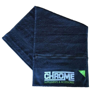 Accessories Chrome Towel With Zip - Chrome Supplements and Accessories