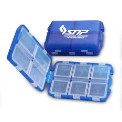 Accessories SNP Pill Box [Blue] - Chrome Supplements and Accessories
