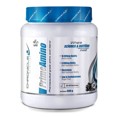 Amino Blend Chronicle Nutrition Prime Amino [600g] - Chrome Supplements and Accessories