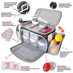 Bag FitMark The Shield LG - Chrome Supplements and Accessories