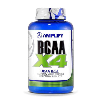 BCAA Amplify BCAA X4 [120 Caps] - Chrome Supplements and Accessories
