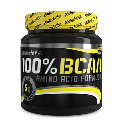 BCAA BioTech USA 100% BCAA [400g] - Chrome Supplements and Accessories