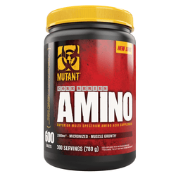 BCAA Mutant Amino 600 Tabs [780g] - Chrome Supplements and Accessories