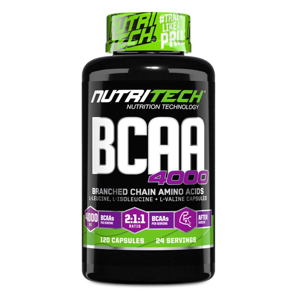 431dcff37 Nutritech BCAA 4000  120 Caps  - Chrome Supplements and Accessories