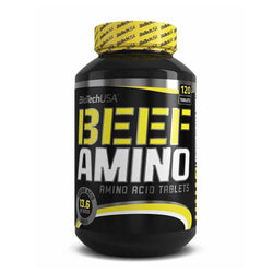 Beef Amino BioTech USA Beef Amino [120 Caps] - Chrome Supplements and Accessories
