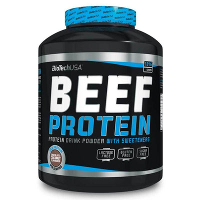 Beef Protein BioTech USA Beef Protein [1.8kg] - Chrome Supplements and Accessories