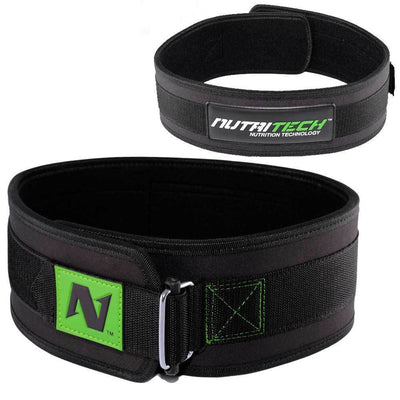 Belt Nutritech Training Belt [Black] - Chrome Supplements and Accessories