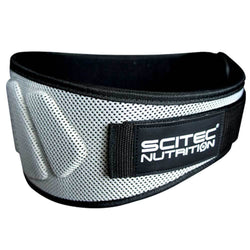 Belt Scitec Nutrition Belt Extra Support [Black/Silver] - Chrome Supplements and Accessories