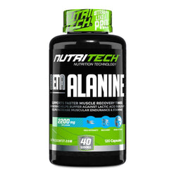 Beta-Alanine Nutritech Beta-Alanine [120 Caps]