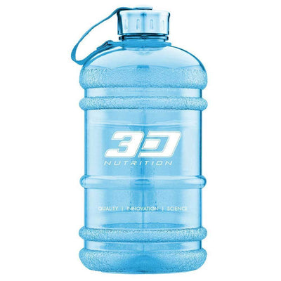 Bottle 3D Nutrition Hydration Jug [2l] - Chrome Supplements and Accessories