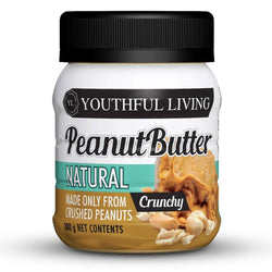 Butter Youthful Living Natural Peanut Butter Crunchy [380g]