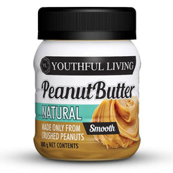 Butter Youthful Living Natural Peanut Butter Smooth [380g]