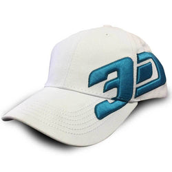 Cap 3D Nutrition Cap [White] - Chrome Supplements and Accessories