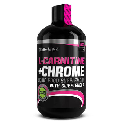 Carnitine BioTech USA L-Carnitine + Chrome [500ml] - Chrome Supplements and Accessories