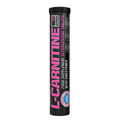 Carnitine BioTech USA L-Carnitine Effervescent [20 Tabs] - Chrome Supplements and Accessories