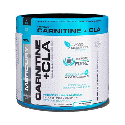 Carnitine TNT Carnitine + CLA [340g] - Chrome Supplements and Accessories