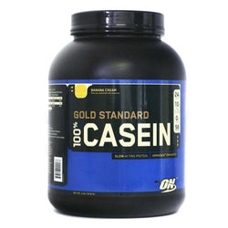 Casein Protein Optimum Nutrition Gold Standard 100% Casein [1.8kg] - Chrome Supplements and Accessories