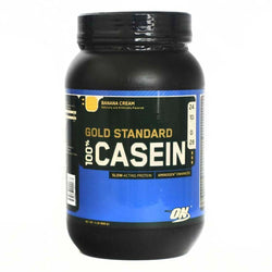 Casein Protein Optimum Nutrition Gold Standard 100% Casein [900g] - Chrome Supplements and Accessories