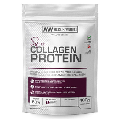 Collagen Protein Muscle Wellness Super Collagen Protein [400g] - Chrome Supplements and Accessories