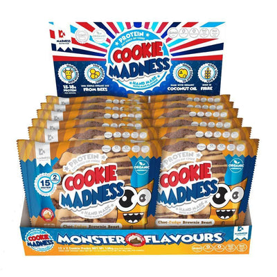 Cookie Madness Nutrition Cookie Madness [12 Packs] - Chrome Supplements and Accessories