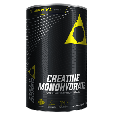 Creatine Monohydrate Fully Dosed Creatine Monohydrate [455g] - Chrome Supplements and Accessories