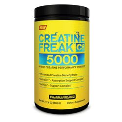 Creatine Monohydrate PharmaFreak Creatine Freak 5000 [500g] - Chrome Supplements and Accessories