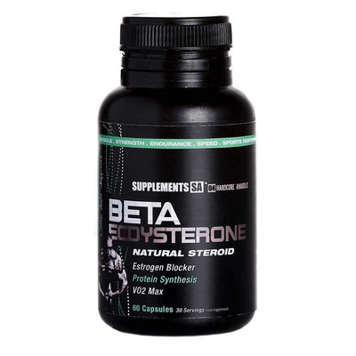 Ecdysterone Supplements SA Beta Ecdysterone [60 Caps] - Chrome Supplements and Accessories