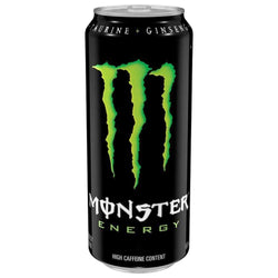 Energy Drink Monster Energy [500ml] - Chrome Supplements and Accessories