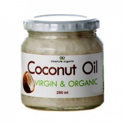 Essential Fatty Acids Absolute Organix Coconut Oil [250ml] - Chrome Supplements and Accessories