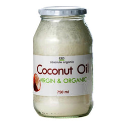 Essential Fatty Acids Absolute Organix Coconut Oil [750ml] - Chrome Supplements and Accessories
