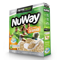 Food Nutritech Nuway - High Protein Granola [500g] - Chrome Supplements and Accessories