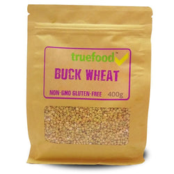 Food TrueFood Buck Wheat [400g] - Chrome Supplements and Accessories