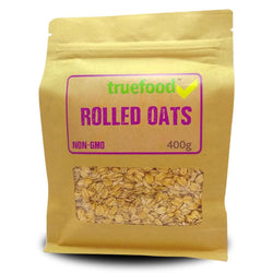 Food TrueFood Rolled Oats [400g] - Chrome Supplements and Accessories