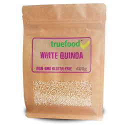 Food TrueFood White Quinoa [400g] - Chrome Supplements and Accessories