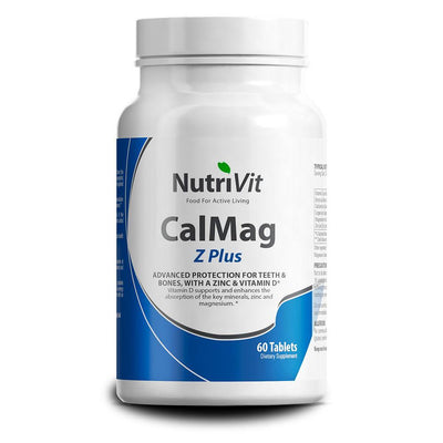 General Health NutriVit Calmag [60 Caps] - Chrome Supplements and Accessories