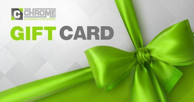 Gift Card Gift Card - Chrome Supplements and Accessories