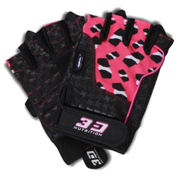 Gloves 3D Nutrition Ladies Lifting Gloves [Pink] - Chrome Supplements and Accessories