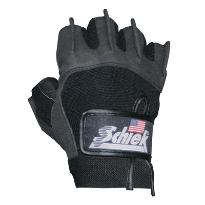 Gloves Schiek Womens Lifting Gloves [Black] - Chrome Supplements and Accessories