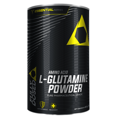 Glutamine Fully Dosed L Glutamine [455g] - Chrome Supplements and Accessories