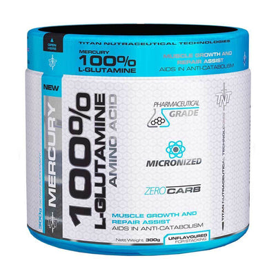 Glutamine TNT L-Glutamine [300g] - Chrome Supplements and Accessories