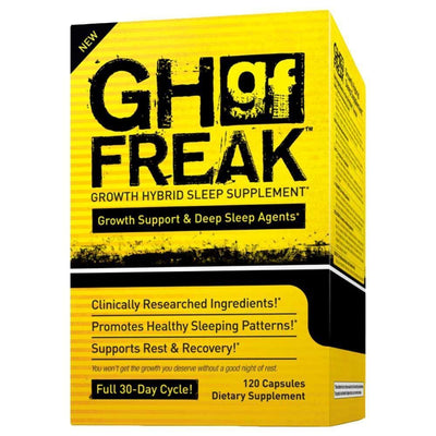 Growth Hormone Support PharmaFreak GH Freak [120 Caps] - Chrome Supplements and Accessories