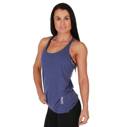 Ladies Vest BW Athletic Ladies Tank Top [Blue] - Chrome Supplements and Accessories