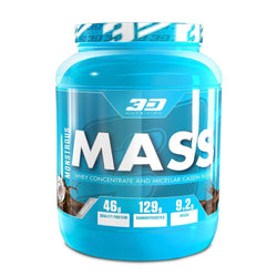 Mass Gainer 3D Nutrition Monstrous Mass [1.5kg] - Chrome Supplements and Accessories