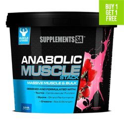 Mass Gainer Supplements SA Anabolic Muscle Stack [3.5kg]