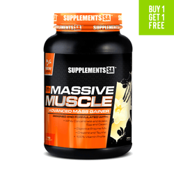 Mass Gainer SUPPLEMENTS SA MASSIVE MUSCLE [1KG]