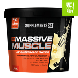 Mass Gainer Supplements SA Massive Muscle [4kg]