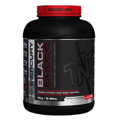 Mass Gainer TNT Black Mass [4kg] - Chrome Supplements and Accessories