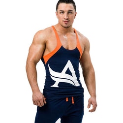 Men's Stringer Aesthetix Era Carbon Stringer [Navy Orange] - Chrome Supplements and Accessories