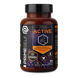 Nootropic Prime Self Prime Active [60 Caps] - Chrome Supplements and Accessories